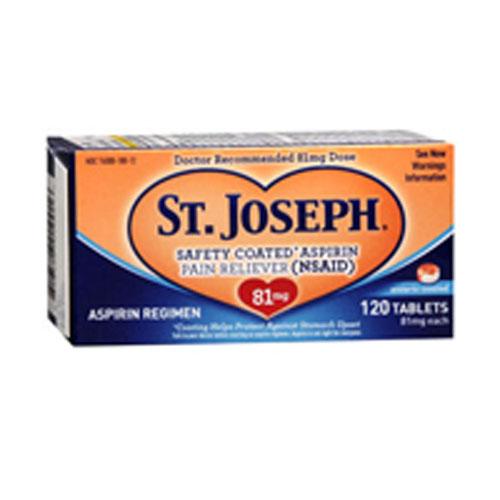 St joseph 81 mg enteric coated aspirin coupon